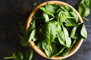 Healthy Breakfast Ideas - Spinach