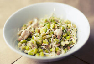 Healthy Breakfast Idea - Sprouts
