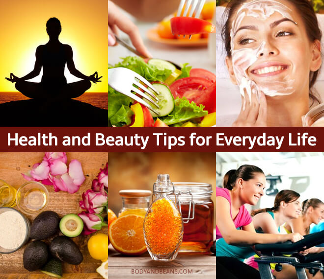 101 Health and Beauty Tips You Can Use in Daily Life