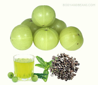 Eat amla or the Indian gooseberry