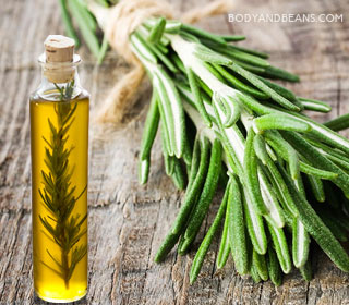 Rosemary infused oil