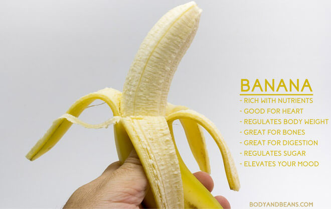 Banana benefits: weight loss, bones, skin and on overall health
