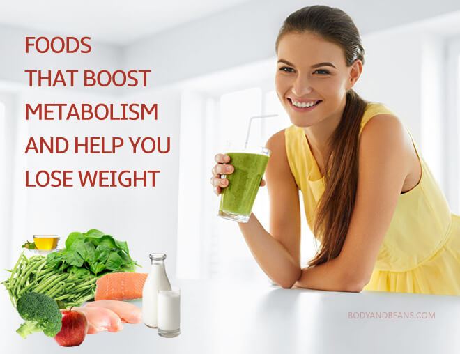 Surprising Foods That Boost Metabolism or The Metabolic Rate and Help You Lose Weight Faster