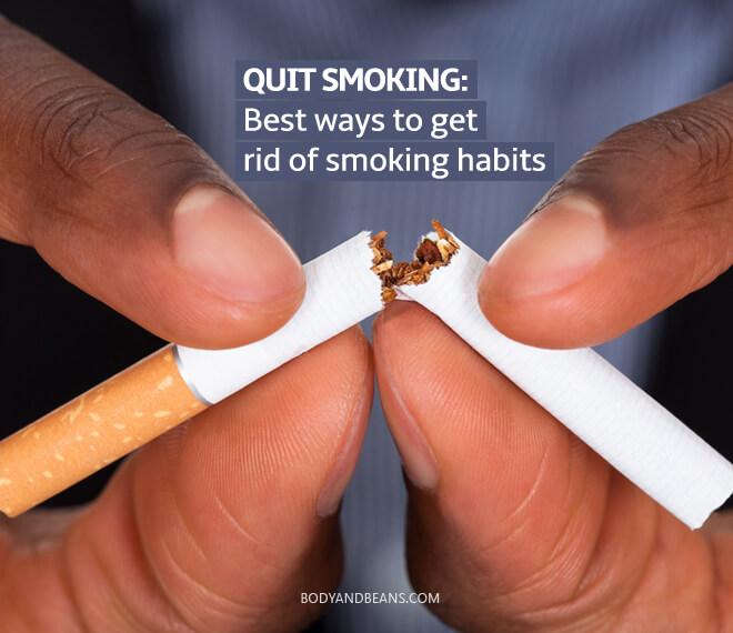 Quit Smoking: Best ways to get rid of smoking habits