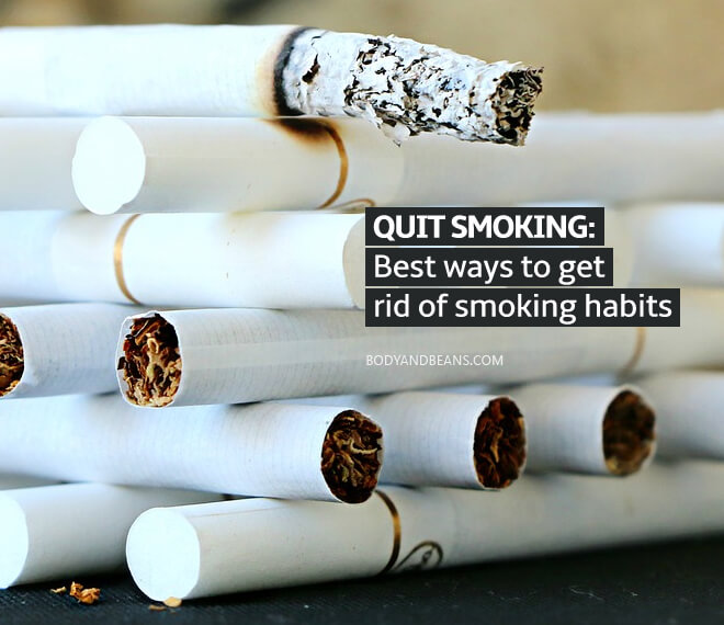 Proven ways to help you quit smoking