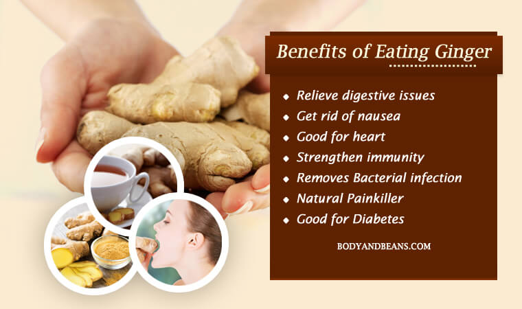 Benefits of Eating Ginger: Good for Stomach and Digestion