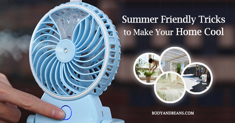 Tips to make your home cool in summer
