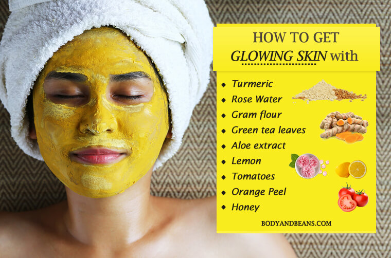 Natural Home Remedies To Get Glowing Skin Easily At Home