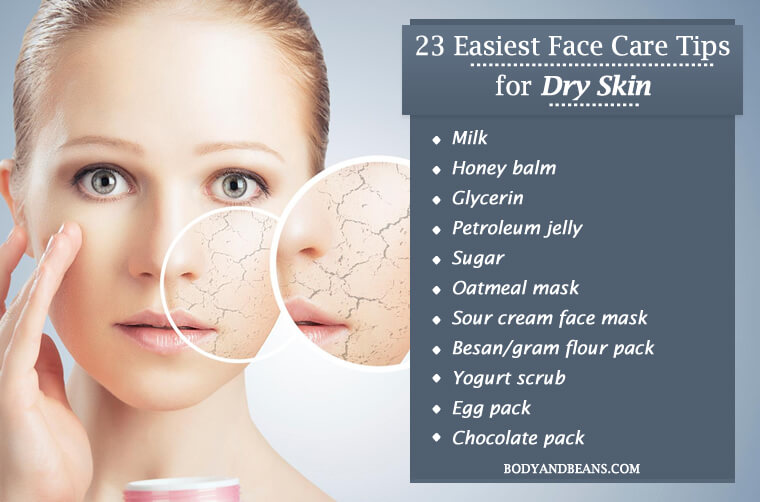Easiest Face Care Tips for Dry Skin That will Make You Glow