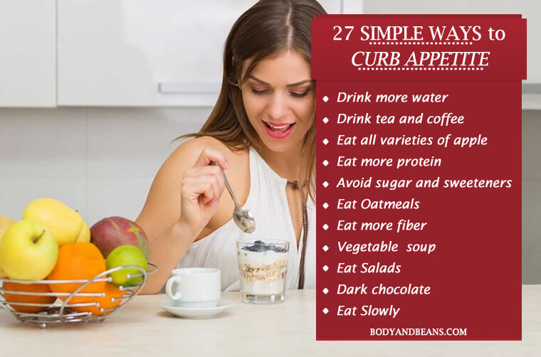 27 Tricks That Will Help You Curb Appetite Naturally