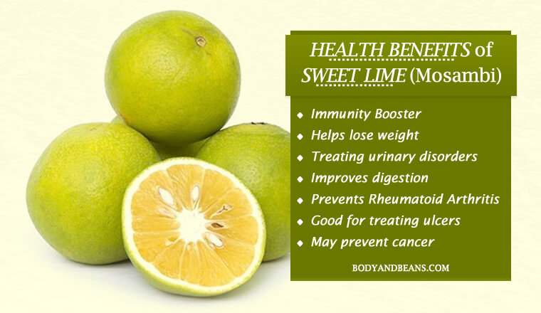 Health Benefits of Sweet Lime (Mosambi)