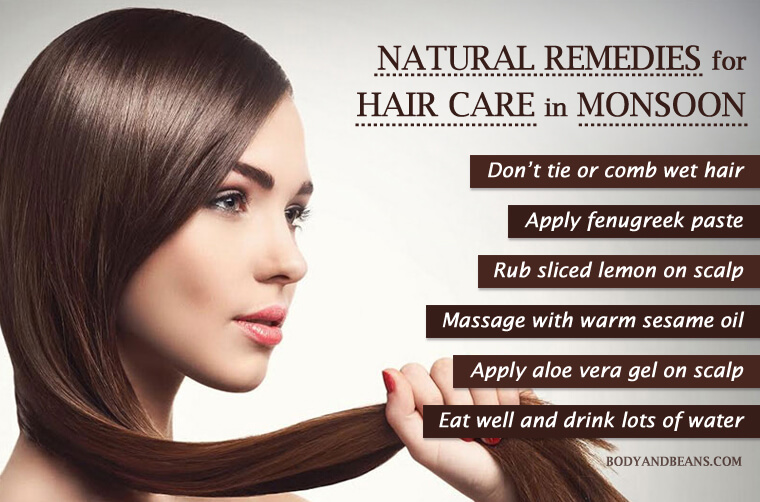 Hair Care in Monsoon: Best Practices and Remedies to Get Healthy and Bouncy Hair