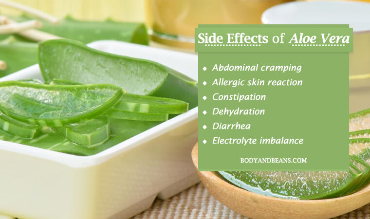 15 Side Effects of Aloe Vera You Should be Aware of