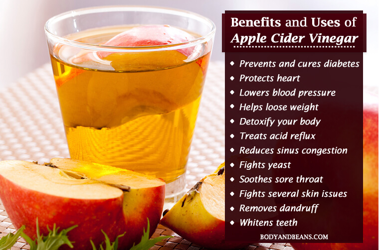 Uses For All Natural Apple Cider Vinegar