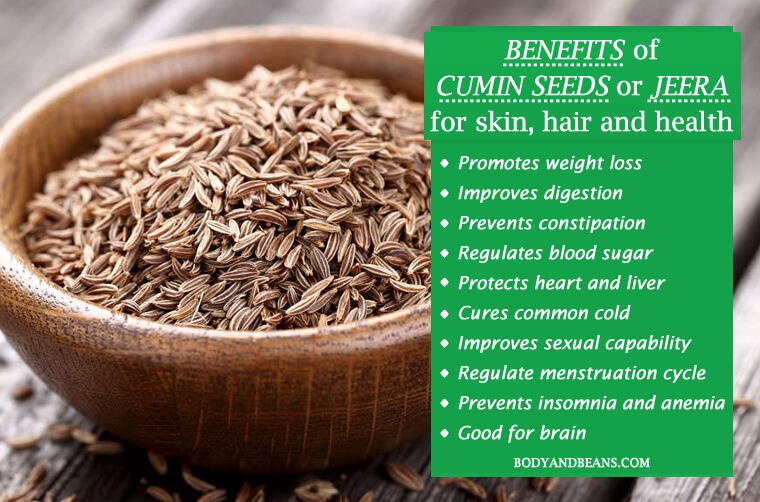 24 Benefits of Cumin Seeds (Jeera) for Skin, Hair and Health