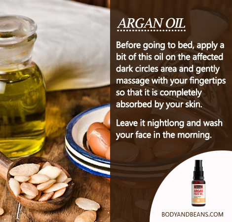 Remedies to Get Rid of Dark Circles: Argan oil can be magical in removing dark circles and here's how to use it