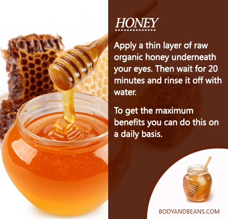 Remedies to Get Rid of Dark Circles: Did you know, you can use Honey to remove dark circles? Here's how to use it