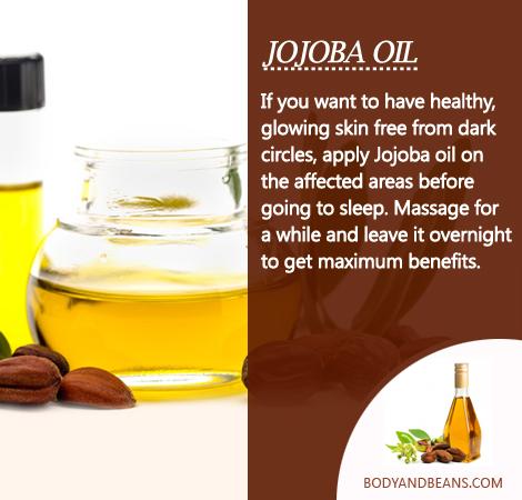 Remedies to Get Rid of Dark Circles: How to use jojoba oil to remove dark circles