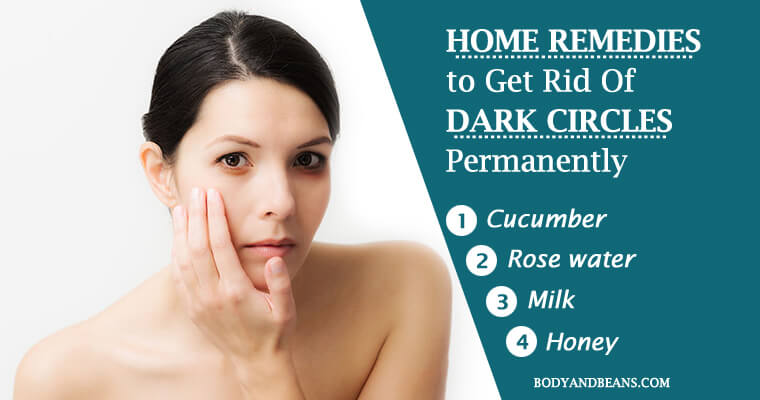 28 Natural Home Remedies to Get Rid of Dark Circles Permanently