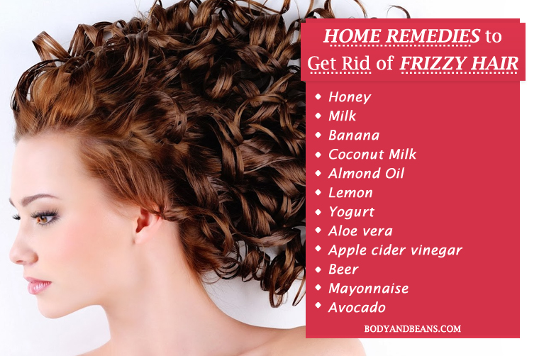 31 Home Remedies to Get Rid of Frizzy Hair Easily