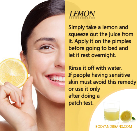 Get Of Rid Lemon Acne Can