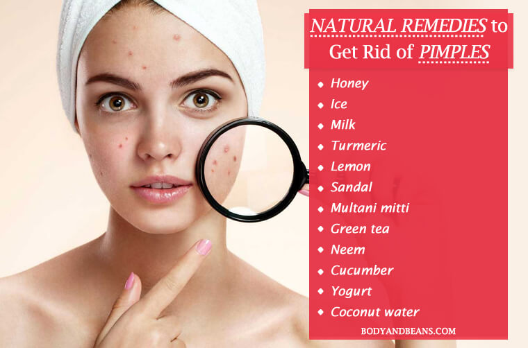 Homemade Remedies To Get Rid Of Pimples