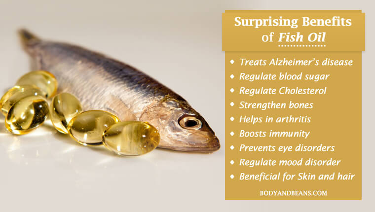 Surprising Benefits of Fish Oil for Health, Skin and Hair