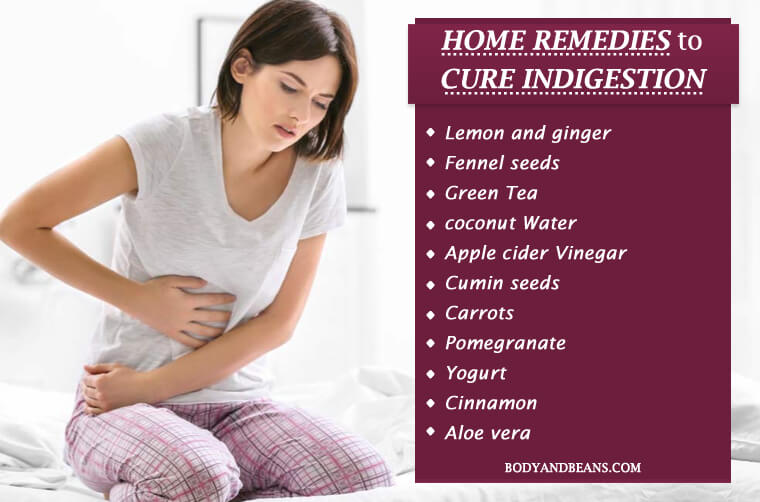 34 Tips and Home Remedies to Cure Indigestion Permanently