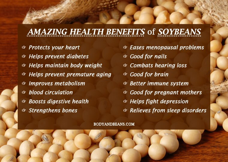 16 Amazing Health Benefits of Soybeans the Powerhouse of Nutrition