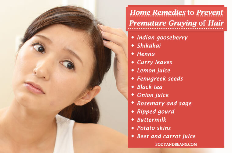26 Natural Home Remedies to Prevent Premature Graying of Hair Naturally