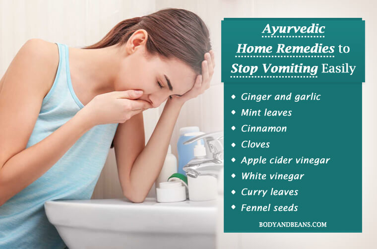 Ayurvedic Home Remedies to Stop Vomiting Easily and Naturally