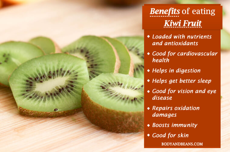Health Benefits of Eating Kiwi Fruit: High in Nutrients and Low in Calories