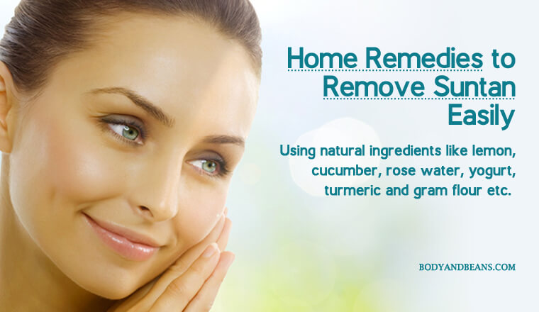 Best Remedies to Remove Sun Tan Easily and Permanently