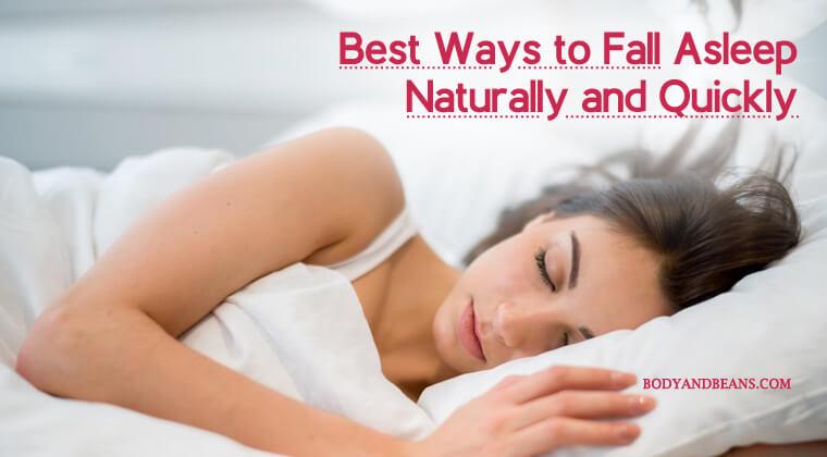 Best Ways To Naturally Fall Asleep