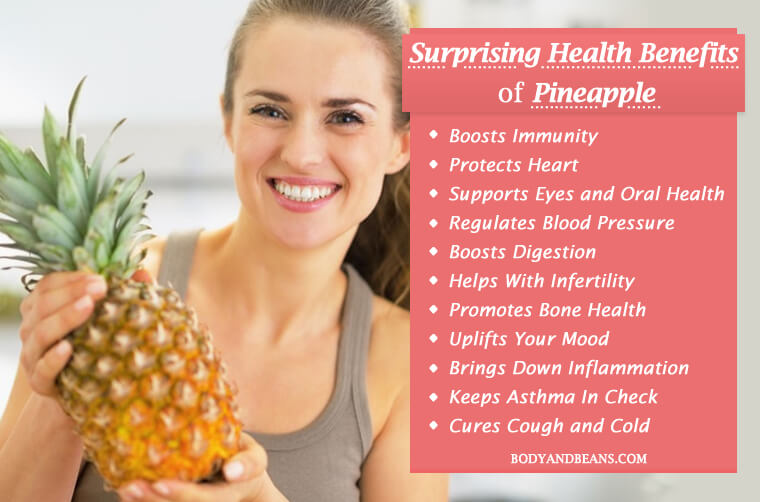 Surprising Health Benefits of Pineapple – Infertility to Immunity