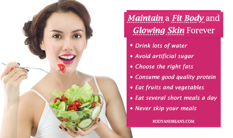 10 Best Diet Rules to Maintain a Fit Body and Glowing Skin Forever