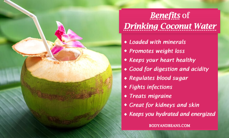 14 Reasons to Drink Coconut Water and Reasons to Add It in Your Diet This Summer