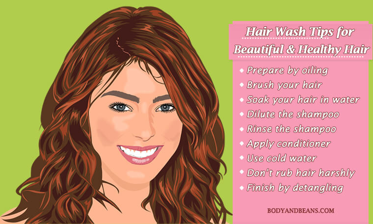 Step by Step Hair Wash Tips to Get Beautiful & Healthy Hair Easily