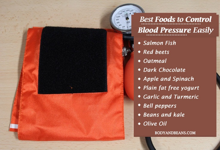 Best Foods to Control Blood Pressure naturally: Foods to control BP