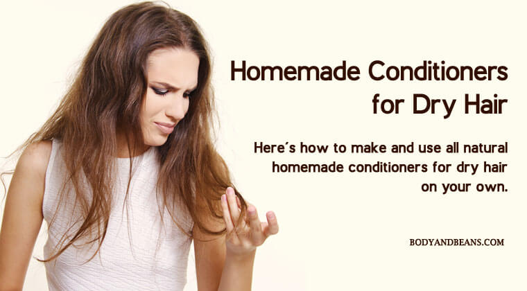 How to Make and Use Homemade Conditioners for Dry Hair