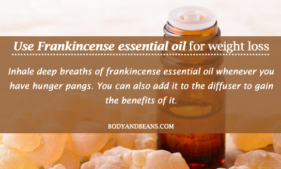 Frankincense essential oil for weight loss