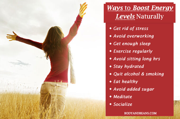 15 Best Ways to Boost Energy Levels Naturally and Easily