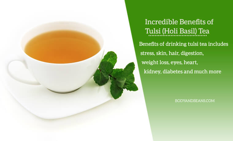 15 Incredible Benefits of Tulsi Tea for Skin, Hair & Weight Loss