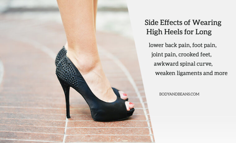Side effects of wearing high heels