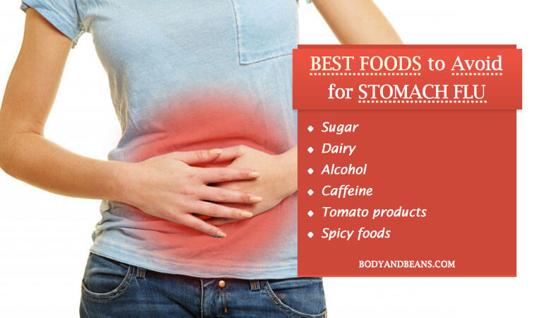 Best Foods to Avoid for Stomach Flu