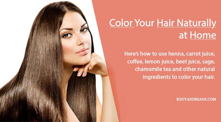 11 Best Natural Ingredients to Color Your Hair at Home