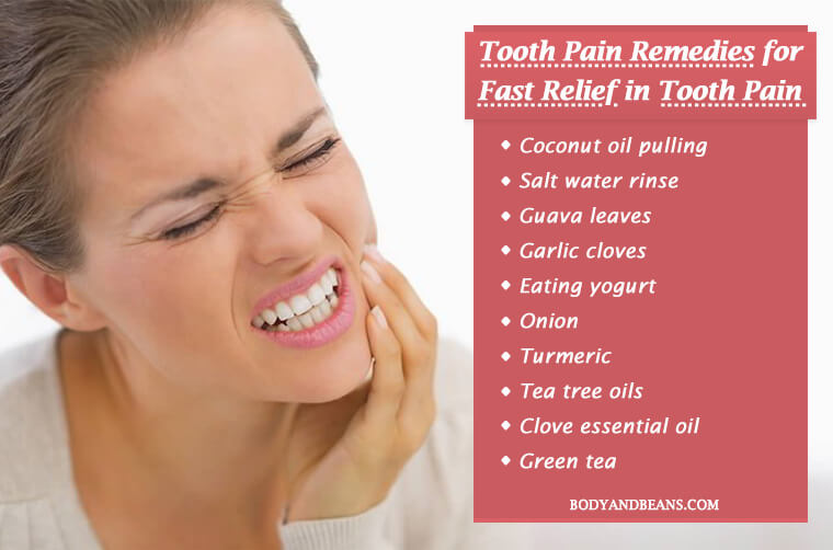 12 Sensitive Tooth Pain Remedies for Fast Relief in Toothache