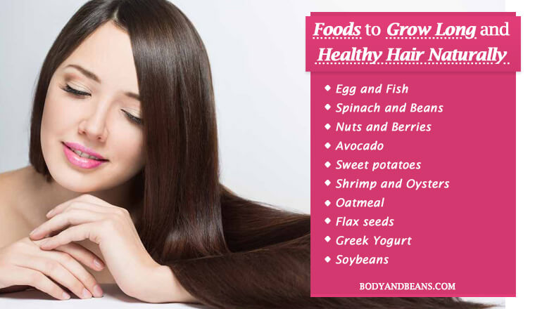 Hair Growth and Thickness: 14 Foods to Grow Long and Healthy Hair