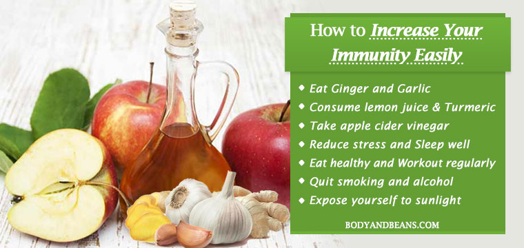 Natural Remedies to Increase Your Immunity Fast and Easily