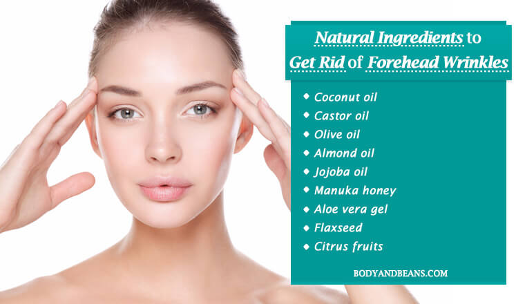 Natural Ingredients to Get Rid of Forehead Wrinkles Easily at Home